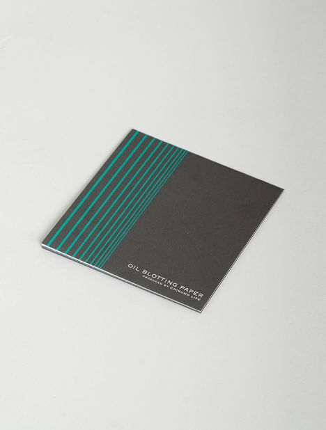 Bamboo Charcoal Oil Blotting Paper