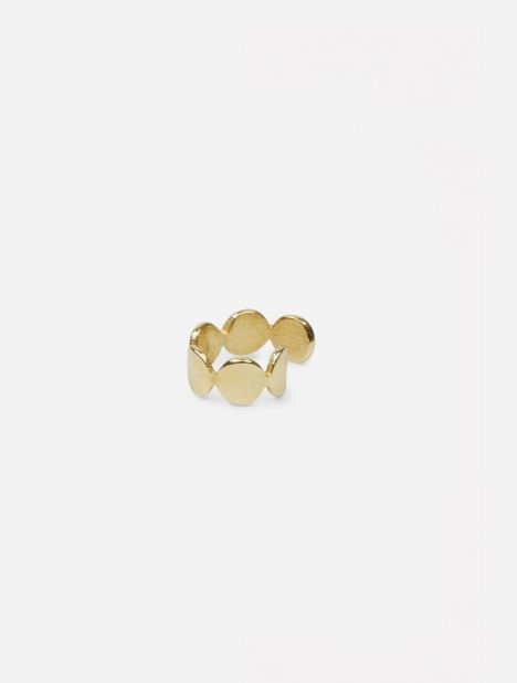 Multi Paillettes Earcuff - Gold