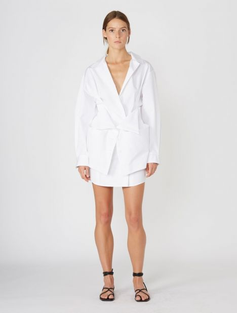 Murano Cotton Shirtdress