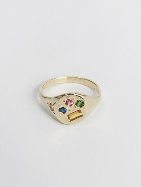 Exclusive | Gold Neapolitan Ring