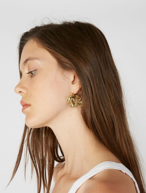Nelson Splatter Coil Earrings