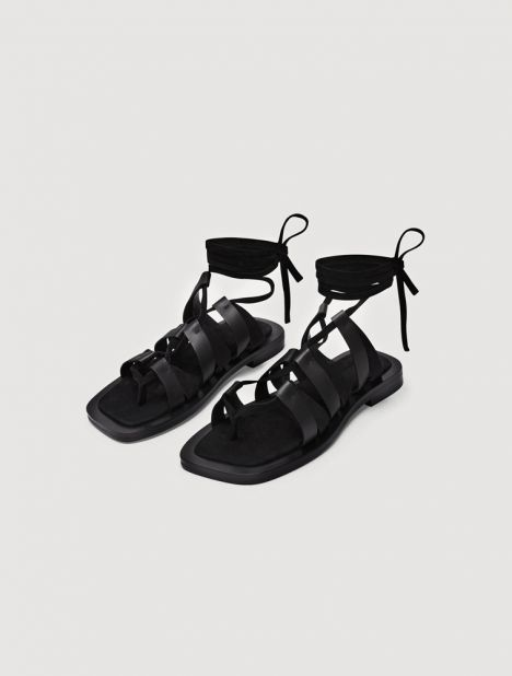 Niko Leather Sandal