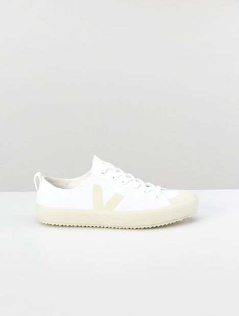 Novas Canvas Sneaker - White Pierre
