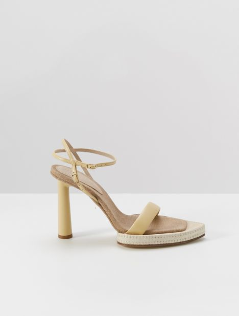 Novio Leather Heeled Sandal