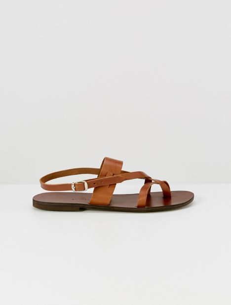 Nyx Leather Sandal - Tan
