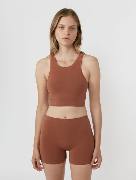 Oleta Seamless Short - Rust