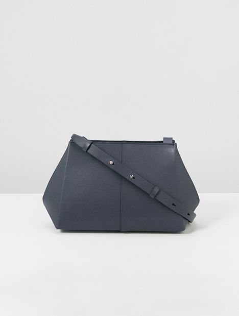 Origami Leather Shoulder Bag