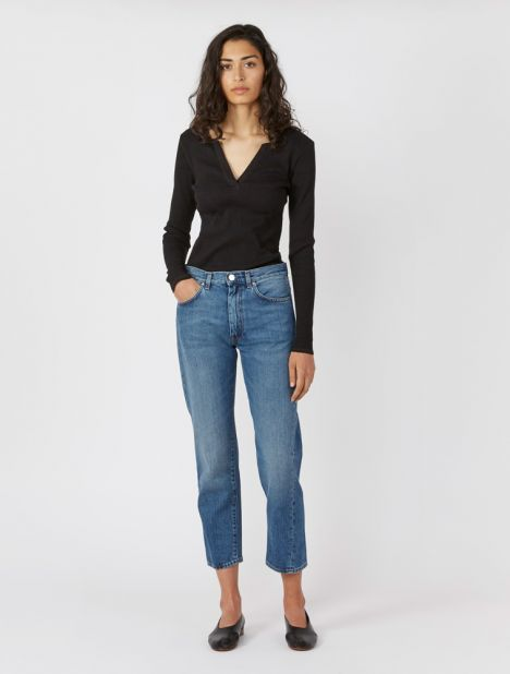 "Original Straight-Leg Jean 30"" - Washed Blue"