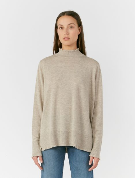 Osaka Mock-Neck Sweater