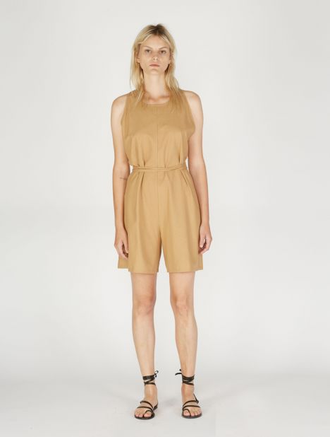 Otay Raw Silk Jumpsuit
