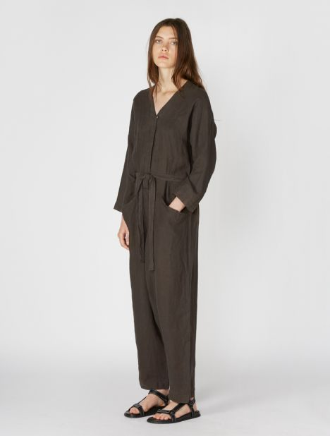 Painter Linen Jumpsuit