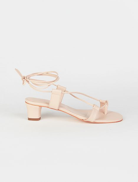 Pavone Heeled Sandal - Blush