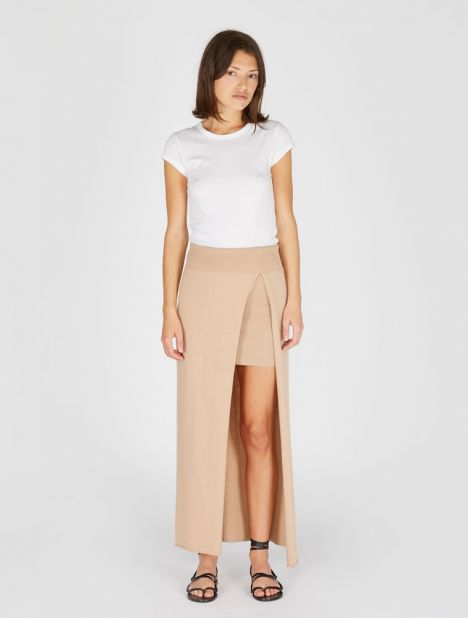 La Jupe Peron Knit Skirt