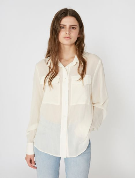 Pocket Cotton Shirt