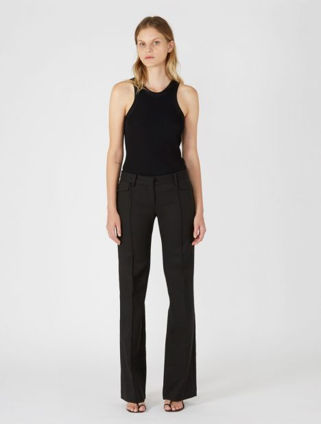 Low-Rise Pocket Trouser