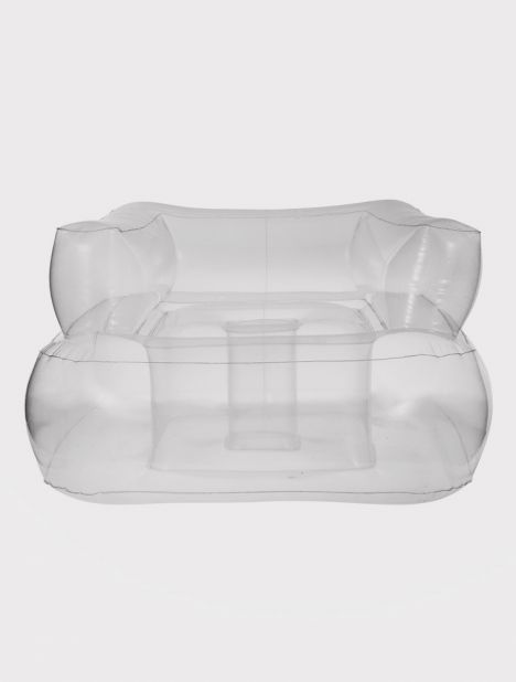 Gstaad PVC Pool Sofa - Clear