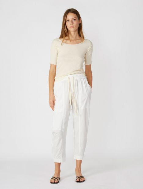 Workroom Poplin Pant - Natural