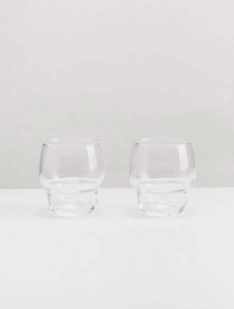 Potte Stacking Glass Set 8oz