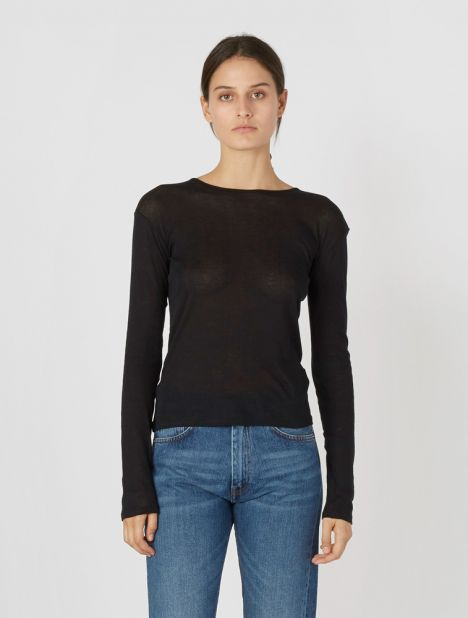 Puig Organic Long Sleeve Top - Black
