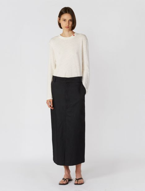Ray Tailored Midi Skirt