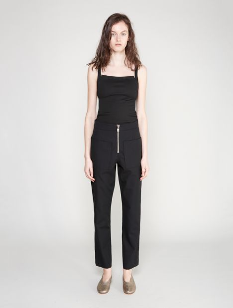 Reversed Paper Twill Pant