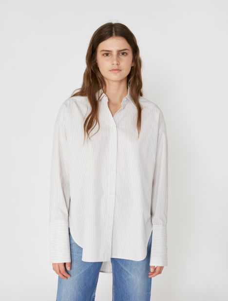 Riley Cotton Shirt - Jute