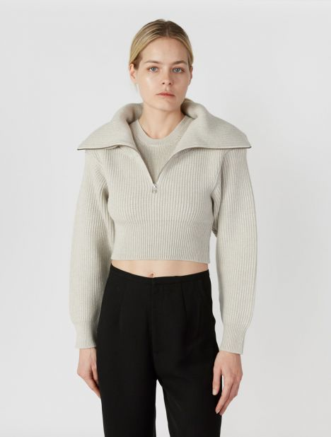 Risoul Layered Merino Wool Sweater