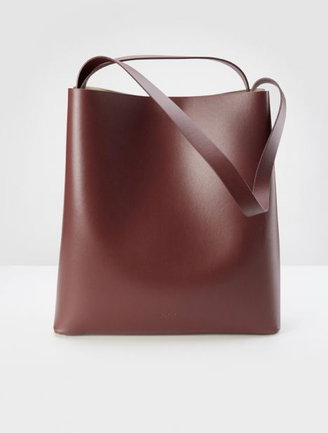 Sac Leather Tote - Brick