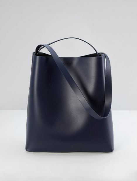 Sac Leather Tote - Eclipse
