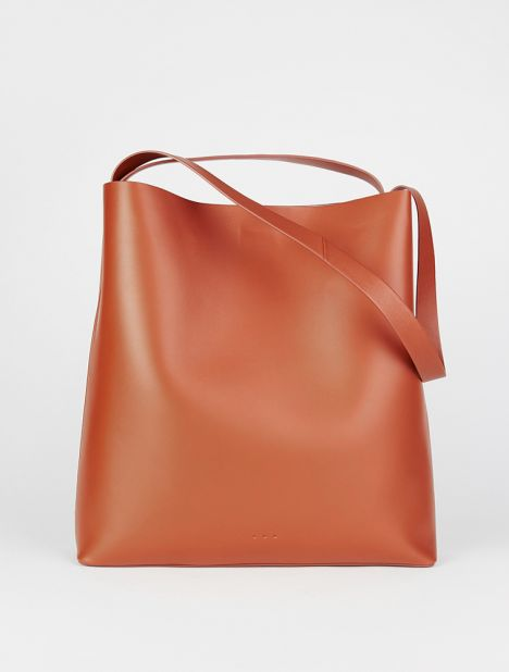 Sac Leather Tote Bag -  Bombay