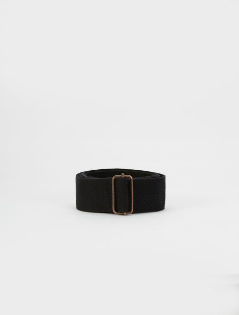 Safari Cotton Belt - Black
