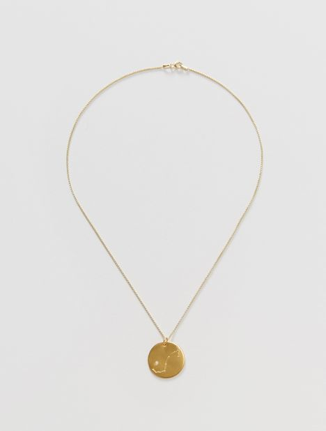 Scorpio Zodiac Constellation Pendant Necklace