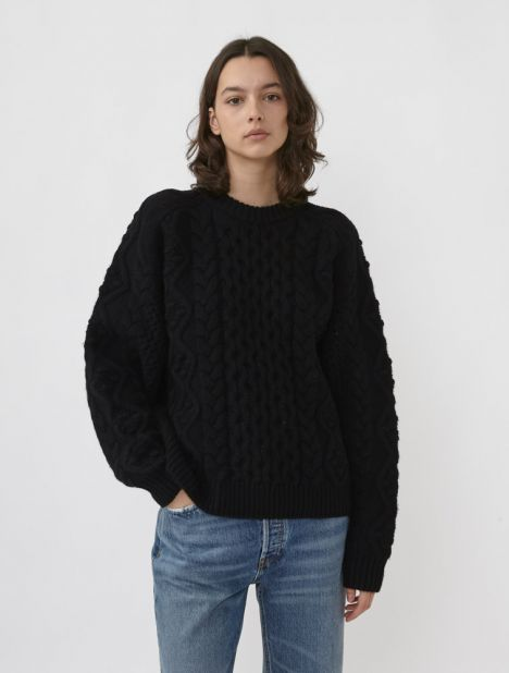 Secas Cable-Knit Sweater