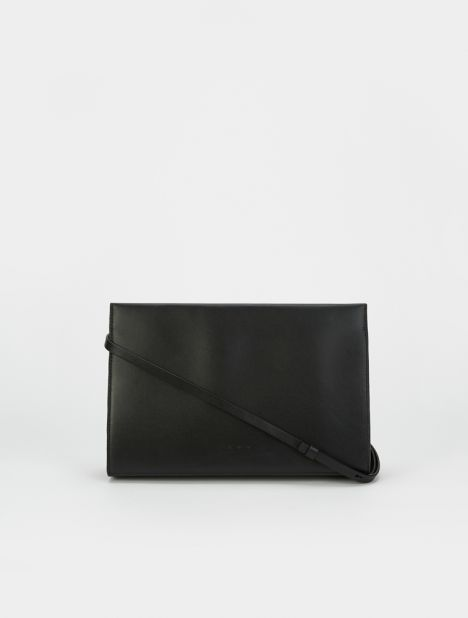 Structured Shoulder Bag - Black
