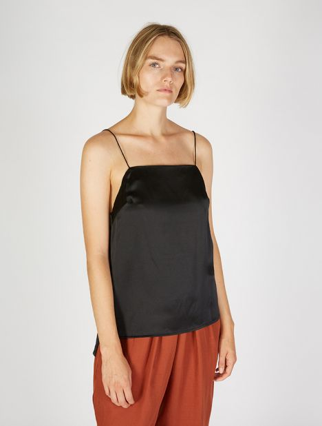 Square Neck Silk Cami