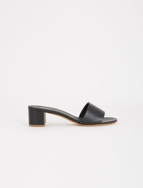 Single Strap Leather Sandal