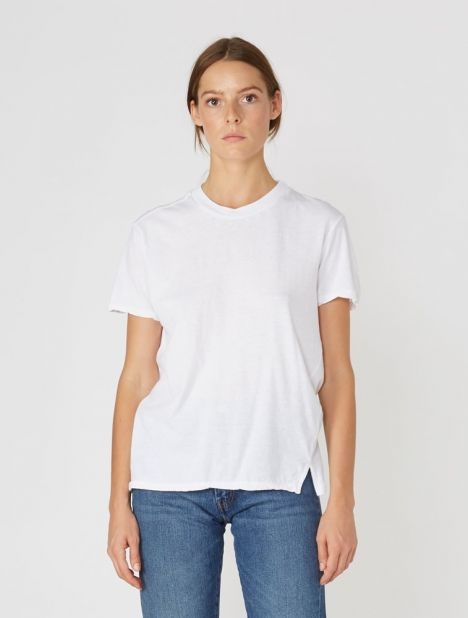 Slim Fit Classic T-Shirt - White