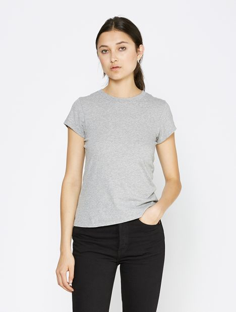 X Hanes 1960's Slim Tee - Heather Grey