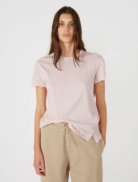 Slim Fit Classic T-Shirt - Pale Pink