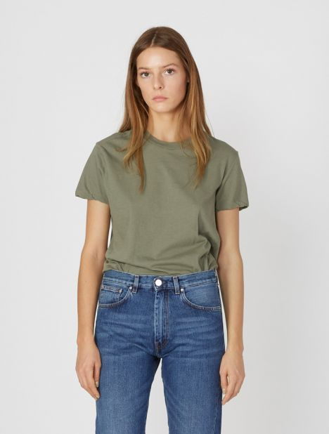 Slim Fit Classic T-Shirt - Army
