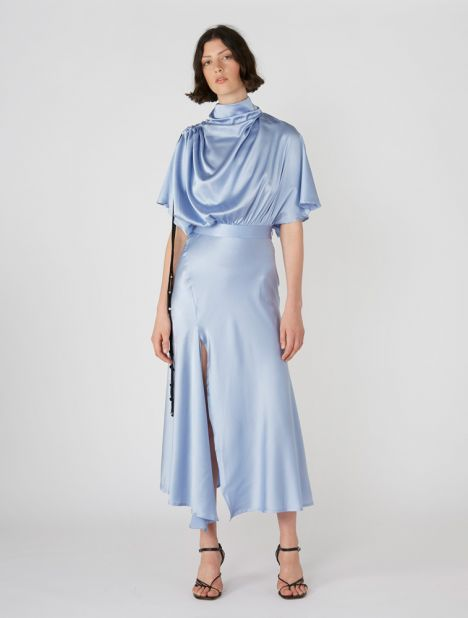 Soul Driver Cape Sleeve Dress
