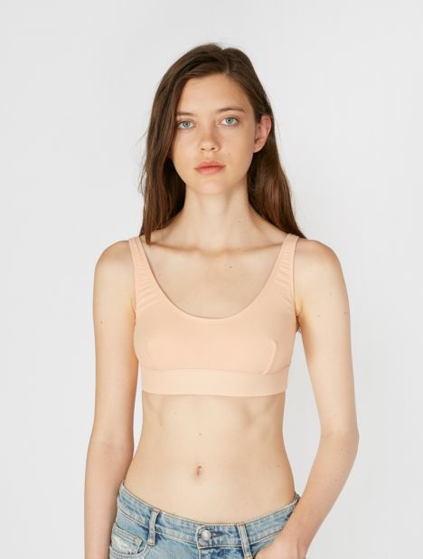 Speed Rib Cotton Bra