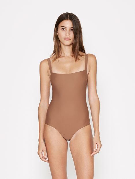 Square Maillot - Almond