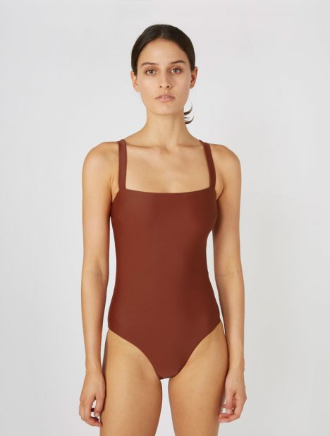 Square Maillot - Rust