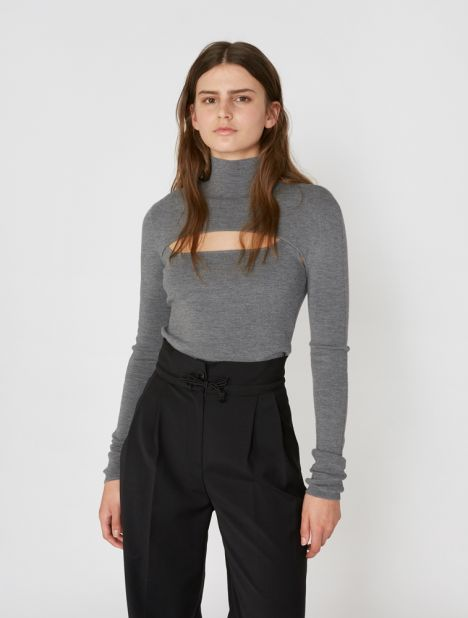 Stirrup Knit Top