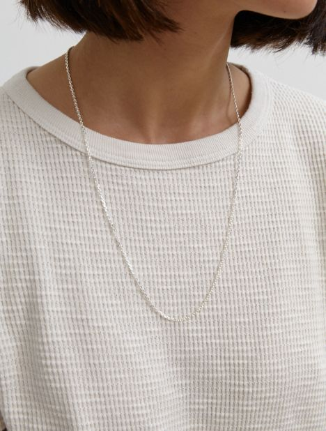 String Necklace - Silver