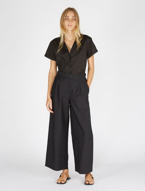 Wide Leg Summer Trouser