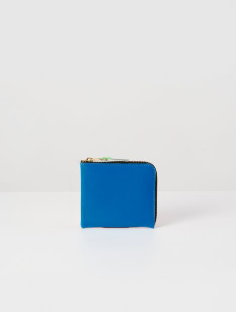 Super Fluro Half Zip Wallet