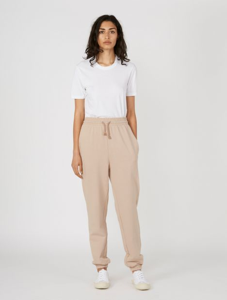 Basic Organic Cotton Sweatpant - Nude