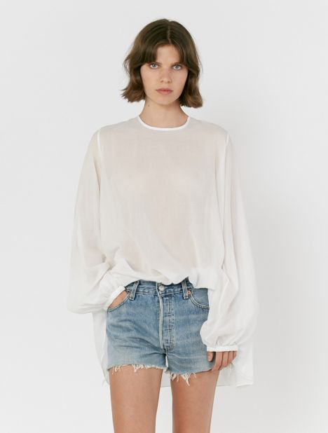Exclusive | Full Sleeve Cotton Swing Top
